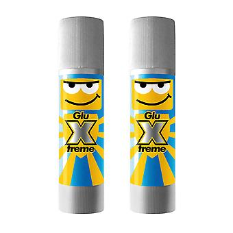 Playcolor Glu-Xtreme Junior Extra Strength Glue Stick 20g (Pack of 2)