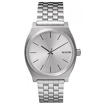 Nixon The Time Teller Watch - All Silver