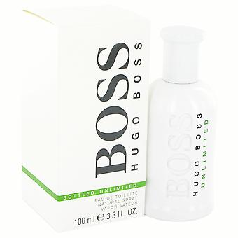 هوجو بوس بوس المعبأة في زجاجات غير محدود أو دي تواليت 100 مل EDT الرش