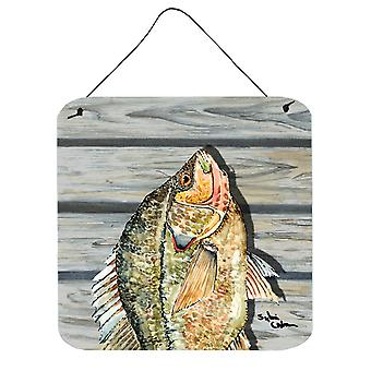 Carolines Treasures  8498DS66 Croppie Aluminium Metal Wall or Door Hanging Print