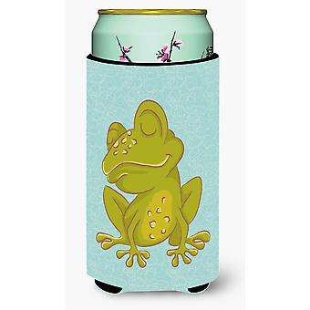 Carolines Treasures  BB8564TBC Frog Tall Boy Beverage Insulator Hugger
