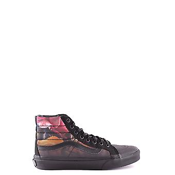 Vans women's MCBI306014O black fabric Hi Top sneakers
