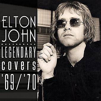 Elton John - den legendariske dækker Album 1969-70 [CD] USA import