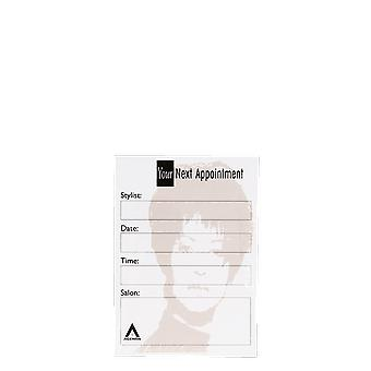 Agenda Salon Concepts Nail Appointment Cards AP2 x100