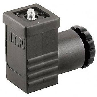 Hirschmann 933 137-100 GDSN 207 Cable Socket, Freely Configurable Black Number of pins:2 + PE