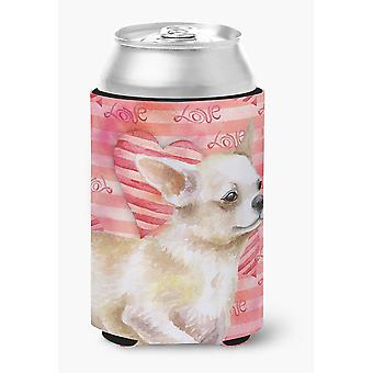 Carolines trésors BB9784CC Chihuahua jambe amour peut ou bouteille Hugger