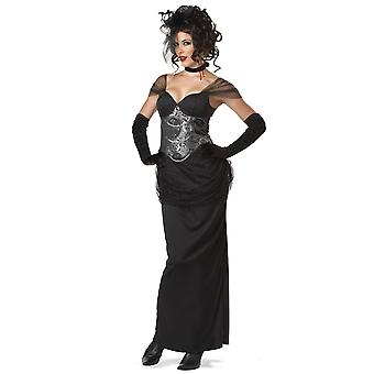 Victorian Vampiress Gothic Vampira Vampire Halloween Womens Costume