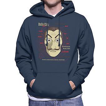 Sudadera con capucha le Casa De Papel Heist máscara hombres