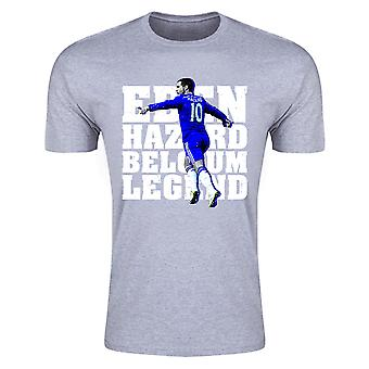 Eden Hazard Belgium Legend T-Shirt (Grey)