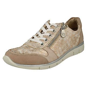 Damen Rieker Trainer Stil Schuhe N4020