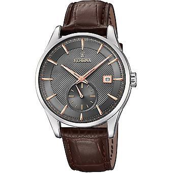 FESTINA - men's watch - F20277/3 - retro - classic
