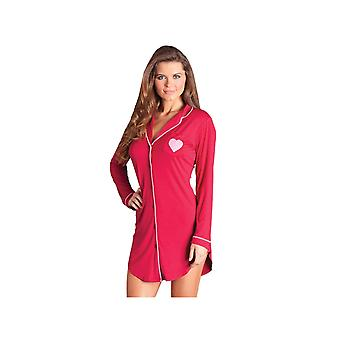 Be Wicked  BW1701R Stacey Nightshirt also in Plus Sizes
