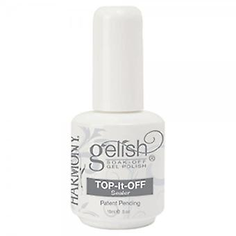 Rematar la Gelish Soak Off esmalte de uñas de Gel sellador Soak-Off