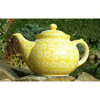 Teapot, 2nd choice, 1200 ml, Bolesławiec yellow, BSN m-4359