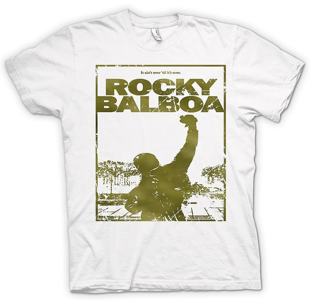 Mens T-shirt - Rocky Balboa Punch - Film - Funny