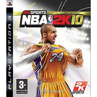 NBA 2K 10 (PS3)