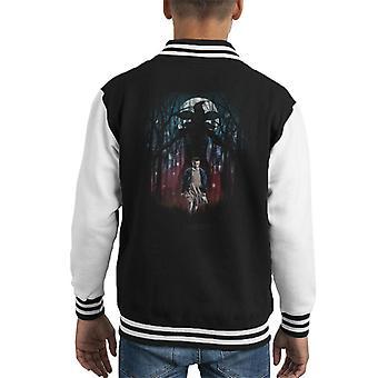 Stranger Things Eleven Demogorgon Forest Kid's Varsity Jacket