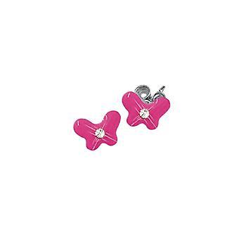 Scout children earrings silver Butterfly girl 262143100