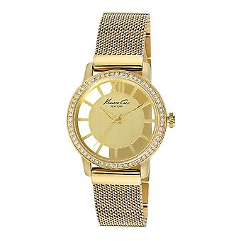 Kenneth Cole New York vrouwen pols horloge analoge RVS 10008101 / KC4956