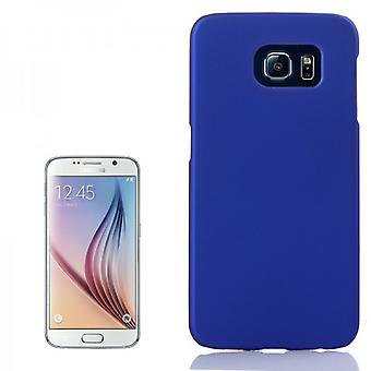 Hardcase blue rubber sleeve for Samsung Galaxy S6 G920 G920F