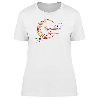 Ramadan Kareem Moon Holiday Tee Women's -Image by Shutterstock
