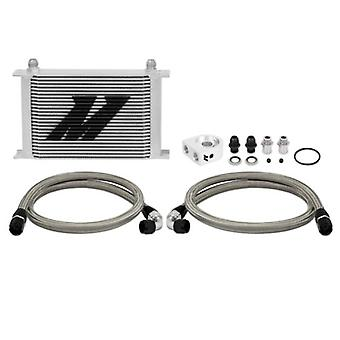Mishimoto (MMOC-UH) Silver 25-Row Universal Oil Cooler Kit