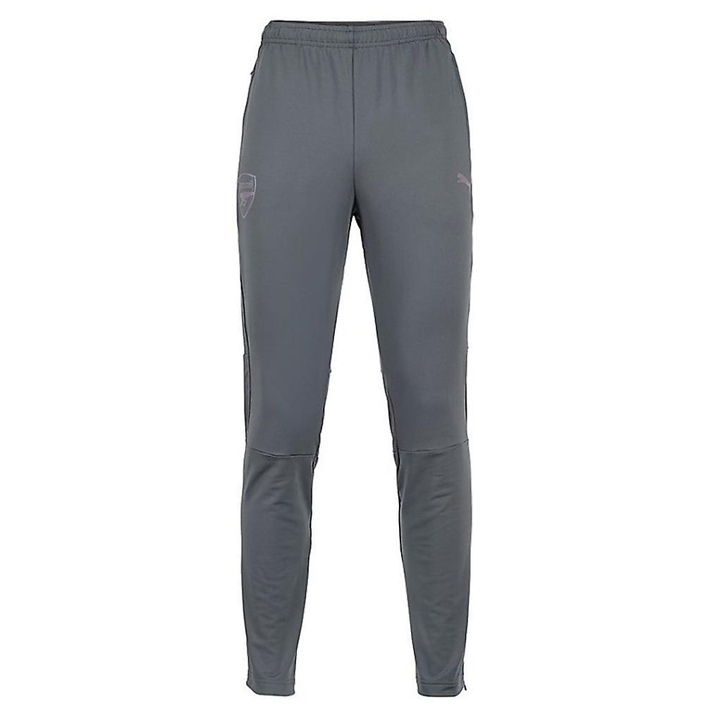 2018-2019 arsenal Puma uitgerust opleiding broek met zakken (grijs)