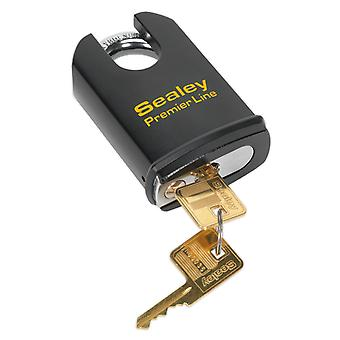 Sealey Pl503S Steel Body Padlock Shrouded Shackle 61Mm