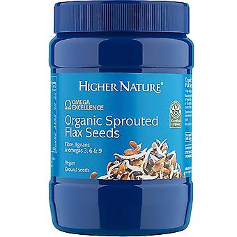 Higher Nature Organic Sprouted Flax Seeds 250g