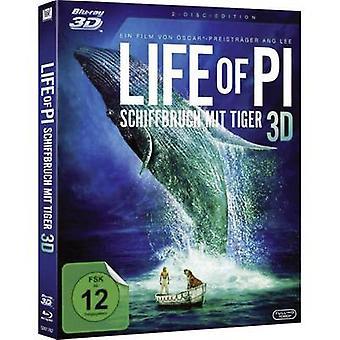 blu-ray 3D Life of Pi - Schiffbruch mit Tiger FSC: 12