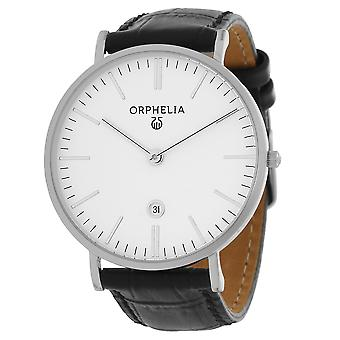 ORPHELIA Mens Analogue Watch Simplicity Black Leather OR61506