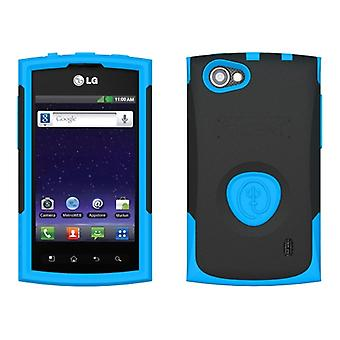 Trident Aegis Case for LG Optimus M+ / MS695 (Blue/Black) - AG-LG-MS695-BL