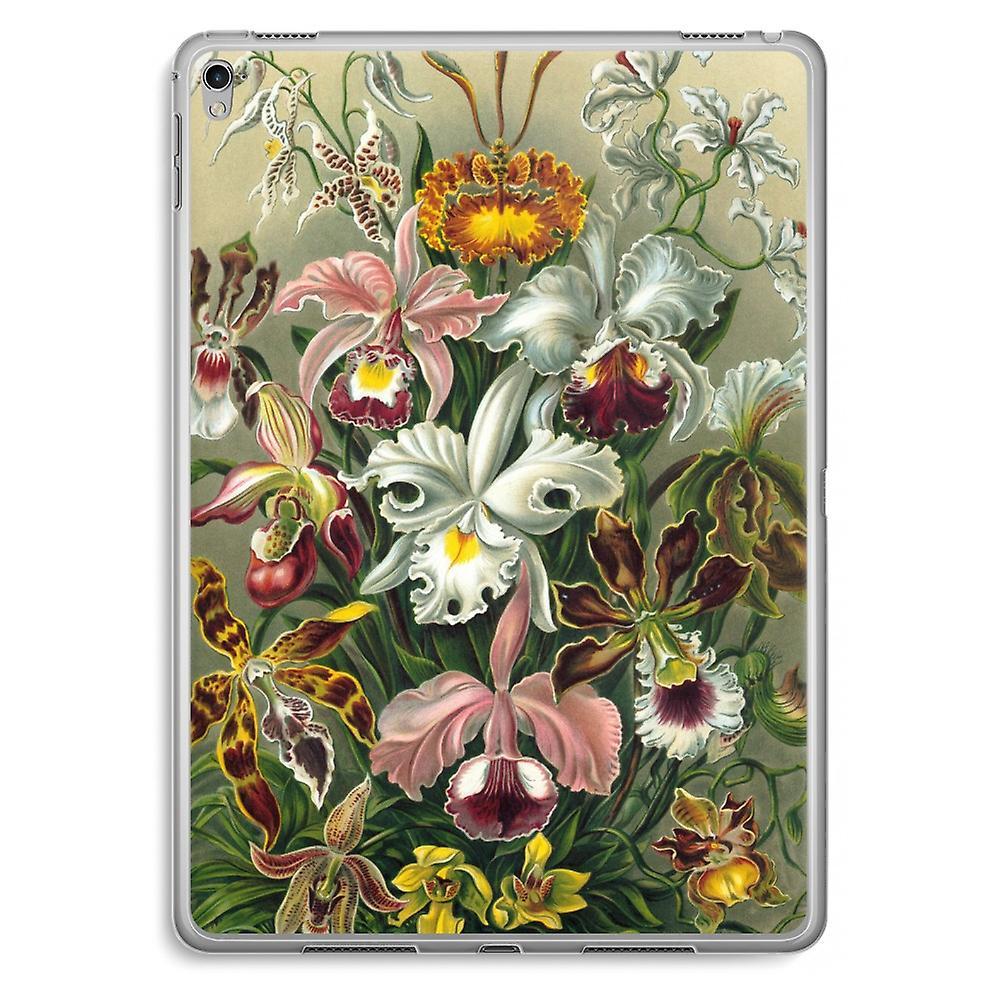 iPad Pro 9,7 inch Transparent Case (Soft) - Haeckel Orchidae