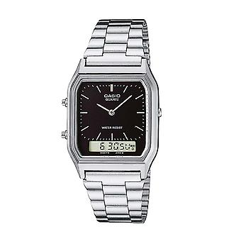 Casio AQ230A-1DMQ Men's Classic Combination Watches