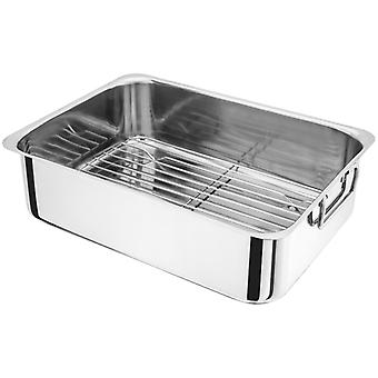 Judge Speciality, 36 x 26 x 10cm Roasting Pan, with Rack