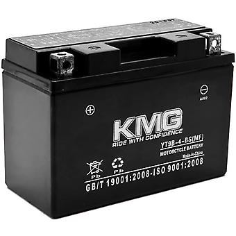 KMG YT9B-4-BS Battery For Yamaha 700 YFM70R Raptor 2006-2012 Sealed Maintenace Free 12V Battery High Performance SMF OEM Replacement Maintenance Free Powersport Motorcycle ATV Snowmobile Watercraft