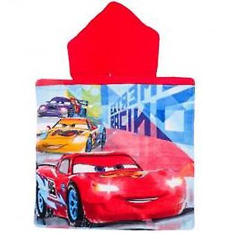 Cars towel Poncho 20 x 39 inch