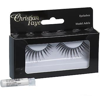 Christian Faye Eyelashes Adela With Glue