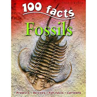 100 Facts on Fossils by Steve Parker - 9781848101647 Book