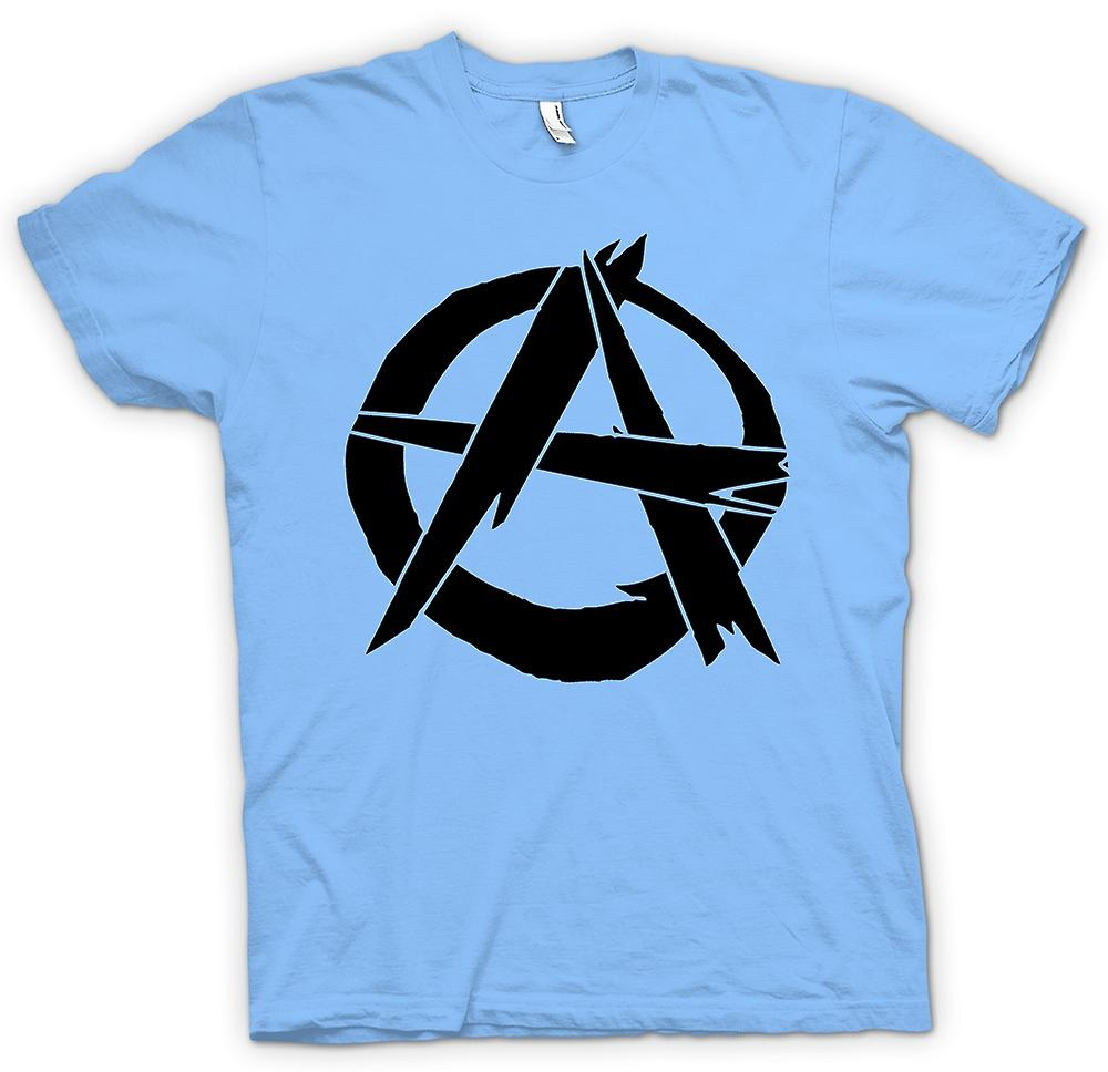 Mens t-shirt - anarchia - Punk