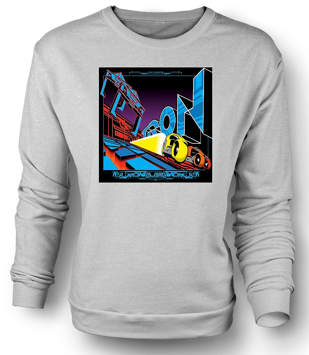 Mens Sweatshirt Tron - Pop Art - kul B film