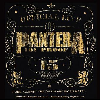 Pantera Coaster 101 Proof band new Official 9.5cm x 9.5cm single cork