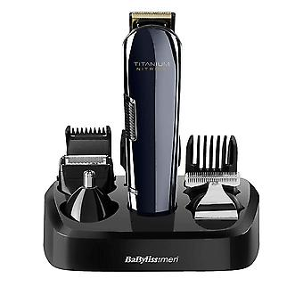 BaByliss 7427U Titanium Nitride Face & Body Multi Groomer Kit