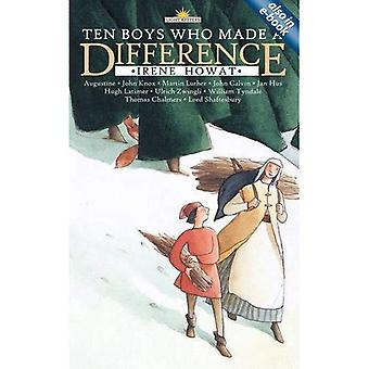 Ten Boys Who Made a Difference (Light Keepers)