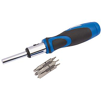 Draper 865/11 13 Piece Ratchet Screwdriver And Bit Set