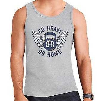 Go Heavy Or Go Home Kettlebell Men's Vest