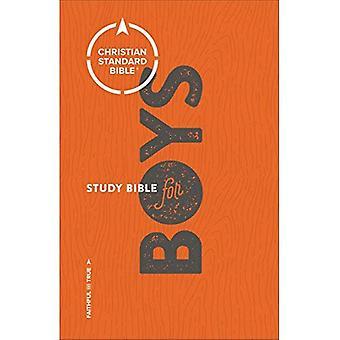 CSB Study Bible för pojkar