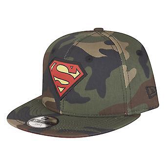 New era 9Fifty Snapback Cap - Superman wood kids camo