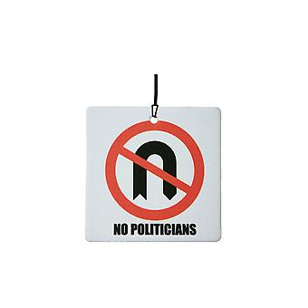 No Politicians Car Air Freshener