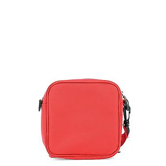 Polythene Optics Red Nylon Messenger Bag